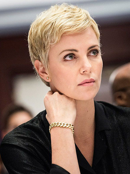 Pixie Short Charlize Theron