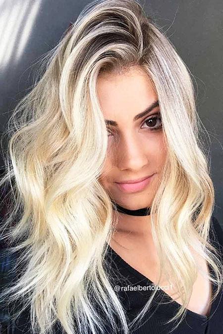 Hair Blonde Volume Very