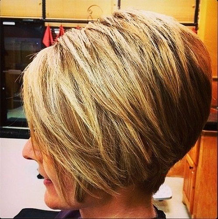 Bob Layered Inverted Haircuts