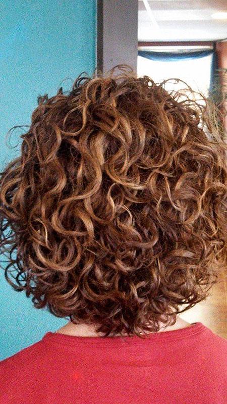 Curly Short Perm Hairtyles