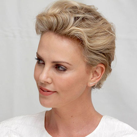 18 Best Charlize Theron Short Hair Short Hairstyles