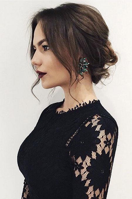 Wedding Hairtyle, Hair Updo Selena Medium