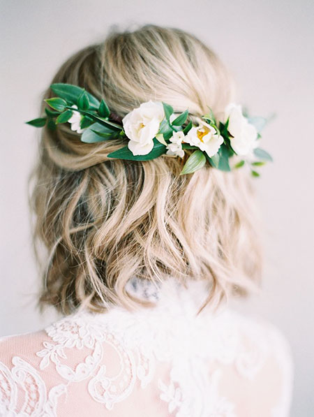 Flower Hair, Wedding Hair Flower Hairtyles