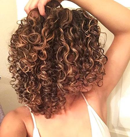 Curly Hair Perm Hairtyles