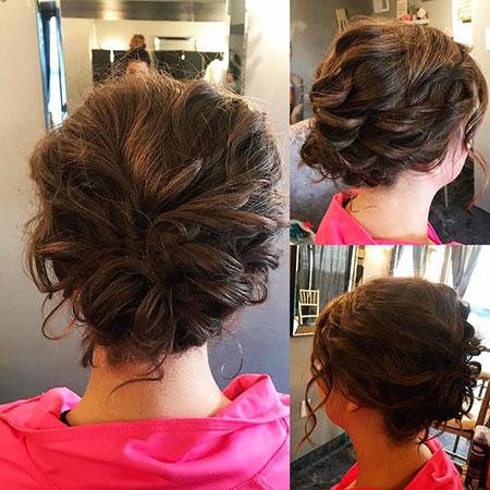 Updo Hair Wedding Prom