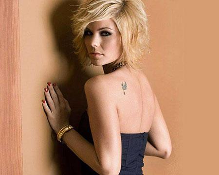 Short Layered Hair, Taylor Swift Shag Woman