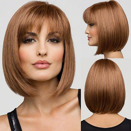 Thin Hair, Straight Hair Bob Wig