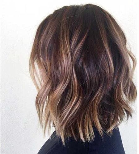 Brown Hair, Balayage Brown Hair Wavy