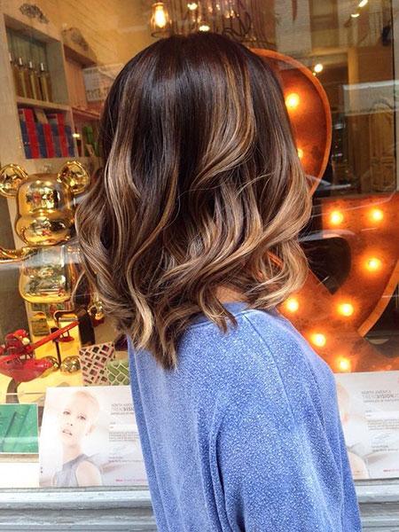 Short to Medium Hair, Medium Hair Balayage Length
