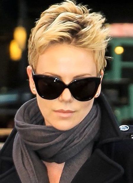 18 Best Charlize Theron Short Hair Short Hairstyles 2018