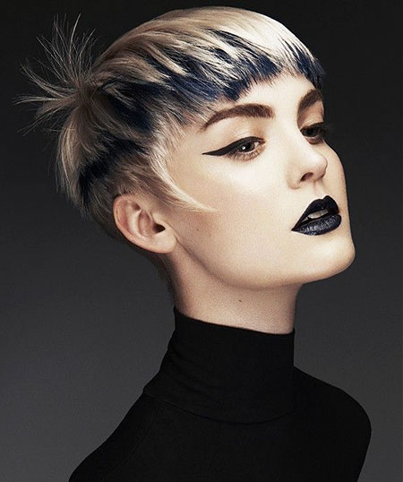 12 Blonde And Black Short Hair Short Hairstyles