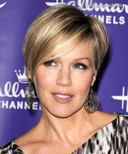 Celebrity Short Hair Style, Short Hair Haircuts Fine