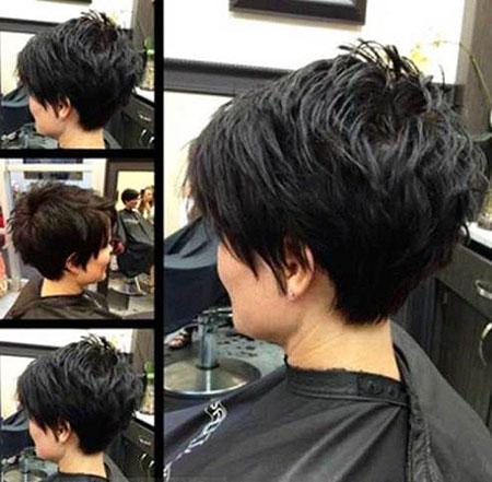 Short Pixie Hair Women