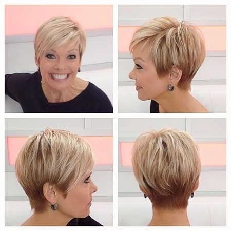 Short Hair Women Pixie