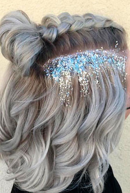 Hair Braids for Short Hair, Hair Short Prom Pretty