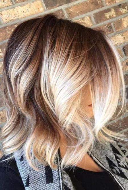 Blonde Balayage Color Hair