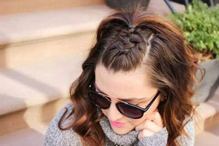 Braid Bun Hairtyles French