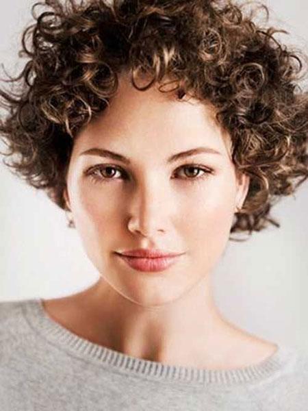 Curly Short Hair Hairtyles