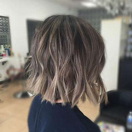Balayage Asian Blonde Bob