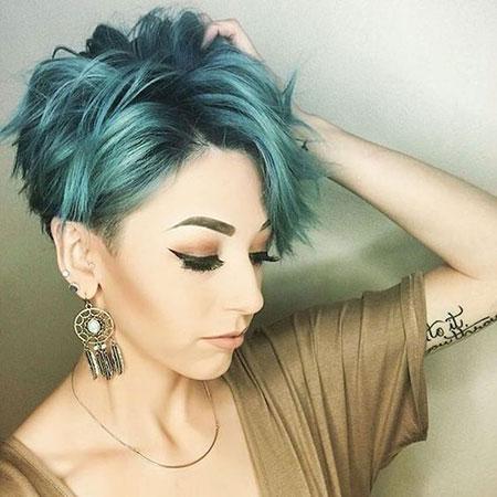 Short Hair Pixie Cut