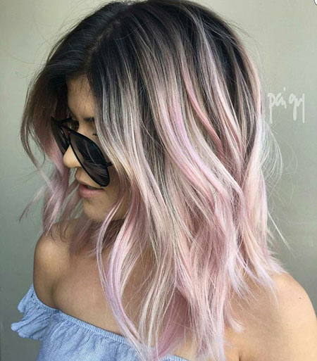 Hair Balayage Color Blonde