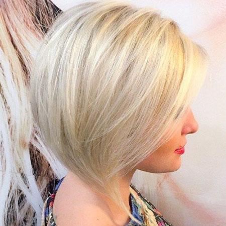 Blonde Platinum Bob Bobs