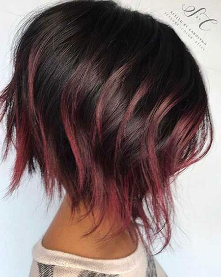 Balayage Girls Short Hair