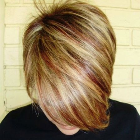 20 Short Red Hair With Blonde Highlights Short