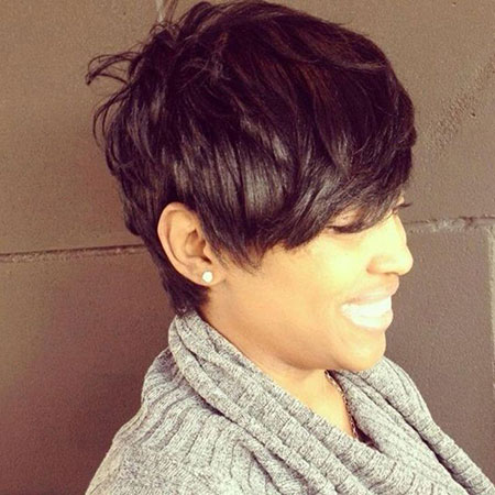 Pixie Short Tapered Hair