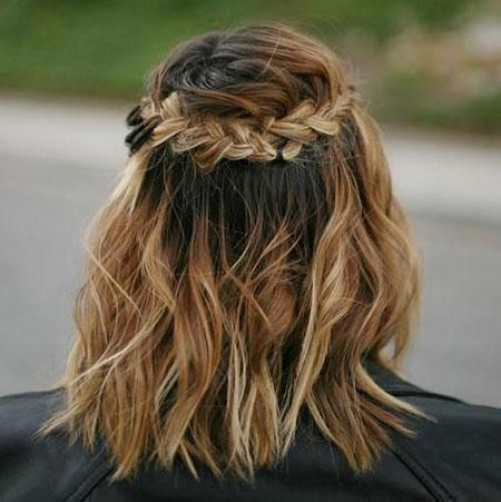 Short Hair Hairtyles Braided