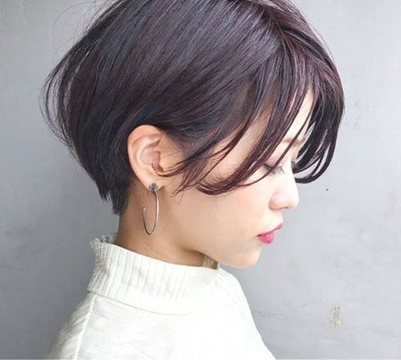 Pixie Asian Hair Short