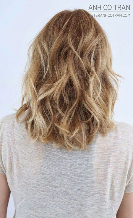 Hair Ombre Blonde Length