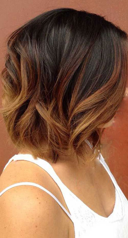 Brown Bob Hair, Hair Ombre Brown Bob
