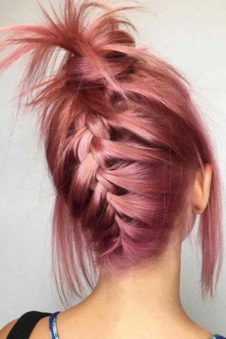 Hair Bun Braided Easy