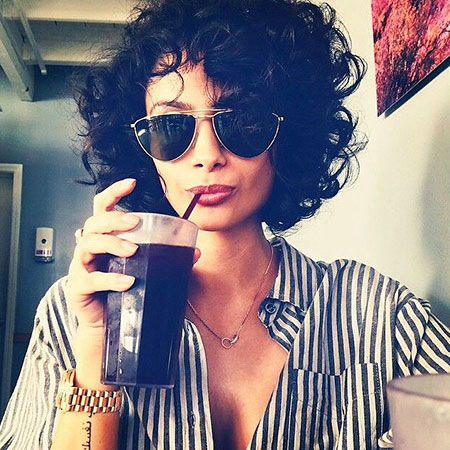 Curly Hair, Curly Hair Jackson Short