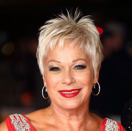 Celebrity Hair, Short Hair Older Women