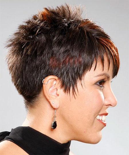 Spiky Haircut, Short Very Hair Hairtyles