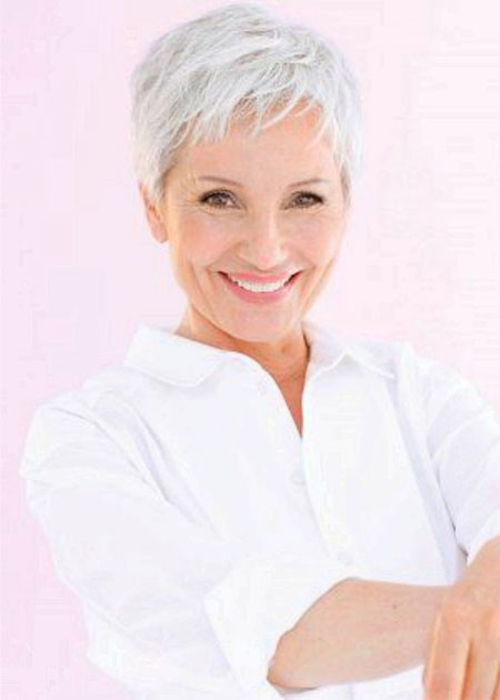Pixie Haircut, Short Older Women Pixie