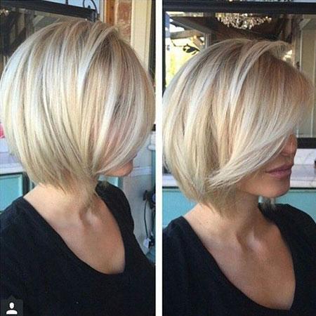 Bob Blonde Fine Hair