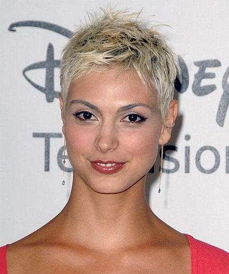 Blonde Hair, Short Pixie Women Haircuts