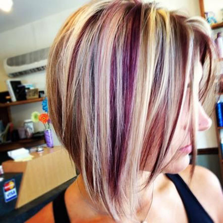 Blonde Hair Color Short