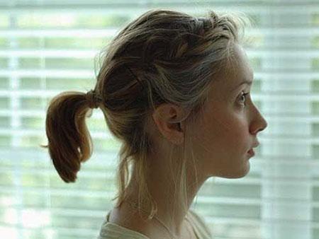 Short Cute Braids Ponytail
