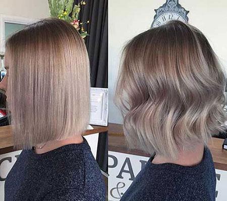 Blonde Bob Ash Color