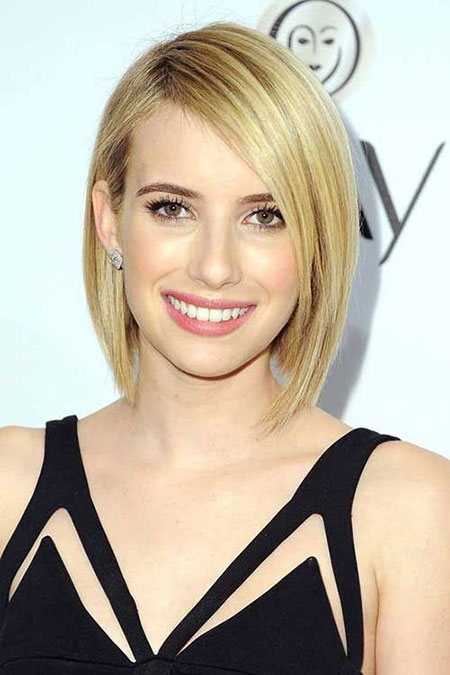 Bob for Thin Straight Hair, Short Bob Thin Hairtyle