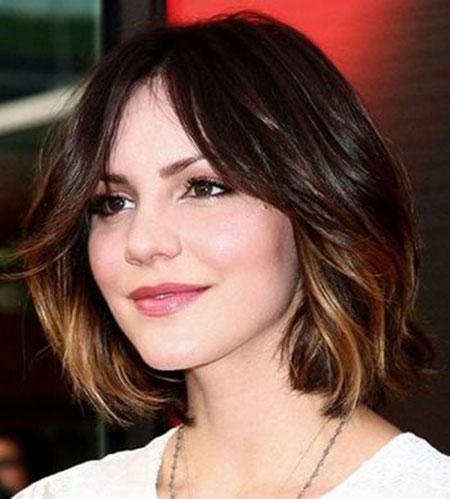 Short Hair Ombre Celebrity