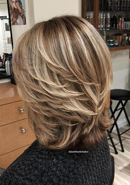 Blonde Short Balayage Bob
