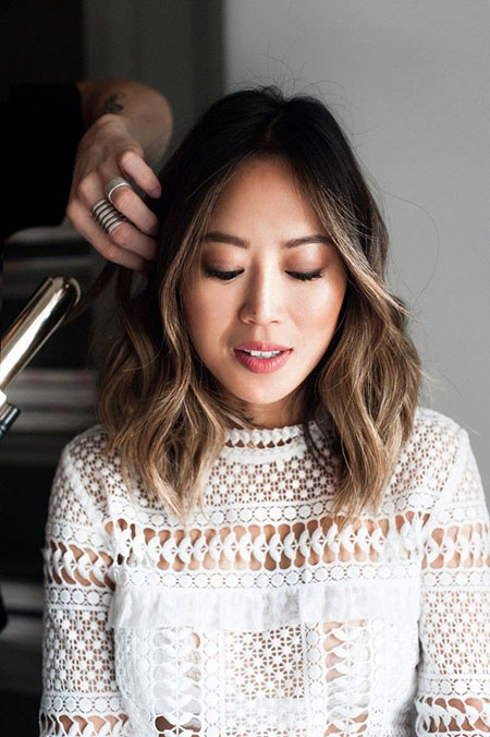 Balayage Hair Asian Ombre