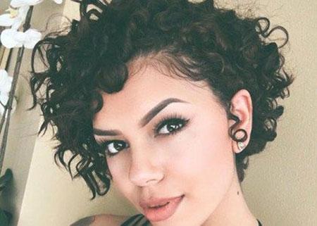 Curly Short Hair Trendy