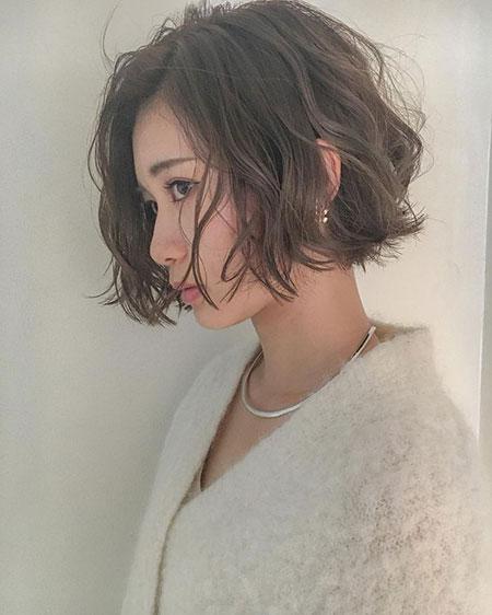 Short Wavy Hair Curly