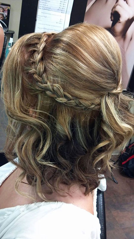 20 Prom Hairstyles For Short Hair